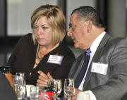 Danielle Keuhnle with Oberer Realty Services hears from Vince Russo, from Aerospace Technologies Associates.