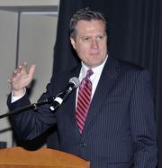 U.S. Rep. Mike Turner, R-Centerville, was among the keynote speakers at the DBJ's 2012 Defense Forum on Tuesday in downtown Dayton.