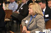 Montgomery County Commissioner Debbie Lieberman at the DBJ's Defense Forum on Tuesday.