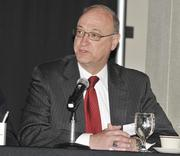 Joe Zeis of Dayton Development Coalition on the second panel session that focused on UAS and UAV opportunities locally.