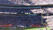 Denver's stadium elevation: Sports Authority Field at Mile High, which opened in 2001, is at 5,280 feet, one mile above sea level. It replaced Mile High Stadium, which stood on an adjacent site.