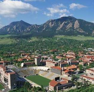 University of Colorado Boulder moved up in the rankings this year for top national universities.