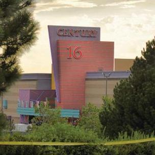 The Aurora Century 16 theater where the fatal July 20 shootings occurred.
