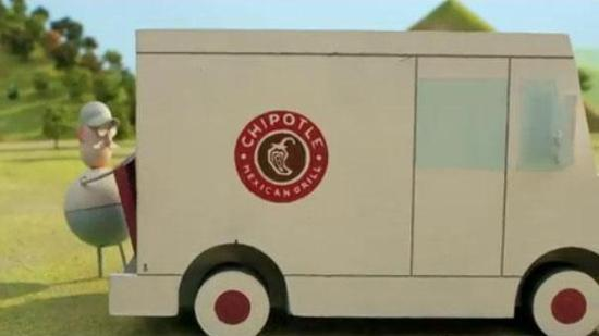 """Chipotle's 2-minute film """"Back to the Start"""" appeared during the CBS  broadcast of the Grammy Awards."""
