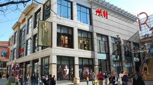 Swedish clothing retailer H&M now has 218 U.S. locations and 2,200 in 40 markets worldwide.