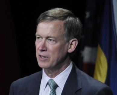 Colorado Gov. John Hickenlooper (file)