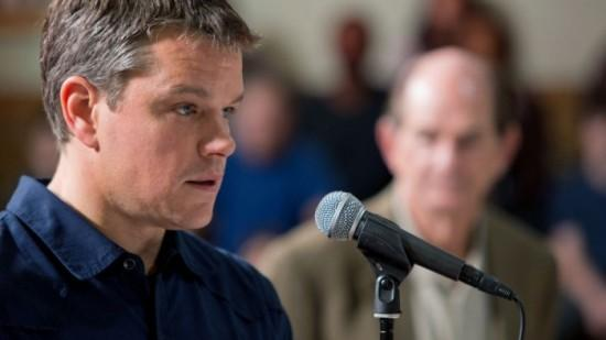 """Matt Damon in """"Promised Land,"""" an anti-fracking movie that was filmed in the Pittsburgh region and opened wide this past weekend."""