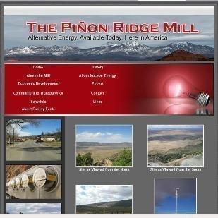 The Pinon Ridge mill website.