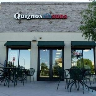 A Quiznos store.