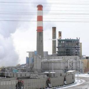 Xcel Energy's coal-fired Cherokee Generating Station in Denver. (2010 photo)