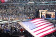 The Democratic National Convention drew huge crowds in Denver in 2008.