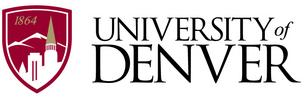 The University of Denver's new logo.