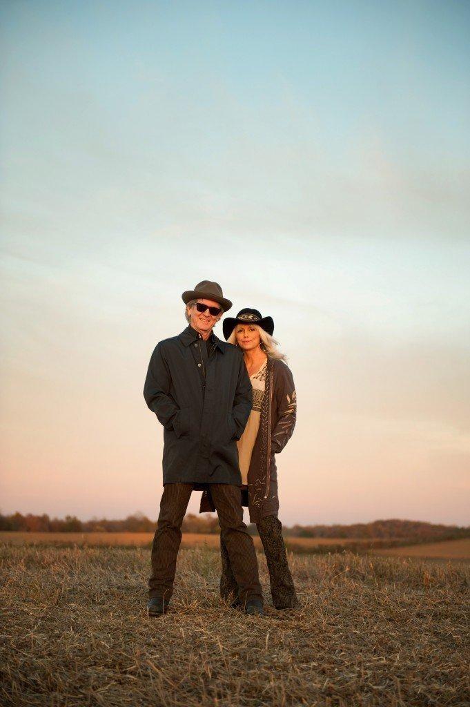 Rodney Crowell amd Emmylou Harris will perform June 17 at the Denver Botanic Gardens.