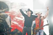 1. Kenny Chesney and Tim McGraw, along with Grace Potter and The Nocturnals, and Jake Owen, played to a sellout crowd of 50,020 at Sports Authority Field at Mile High. Concert gross: $4,401,805.