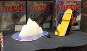 The museum gift shop contains plenty of Titanic-themed items for sale, including a recreation of the ship's sinking for your desk.