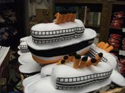 The museum gift shop contains plenty of Titanic-themed items for sale.