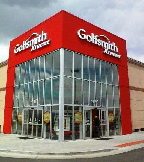 The new Golfsmith Xtreme location in Centennial.