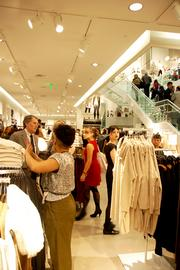 VIPs gathered Nov. 9 for a pre-opening celebration at H&M's new store at the Denver Pavilions.