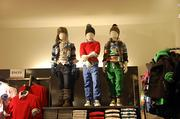 H&M offers a variety of fashion styles including a children's department.