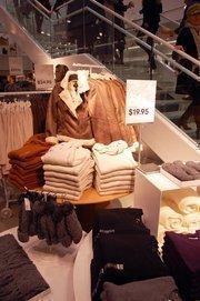 H&M is stocked with plenty of warm, winter wear.
