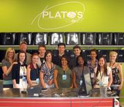 The staff at the Aurora's Plato's Closet.
