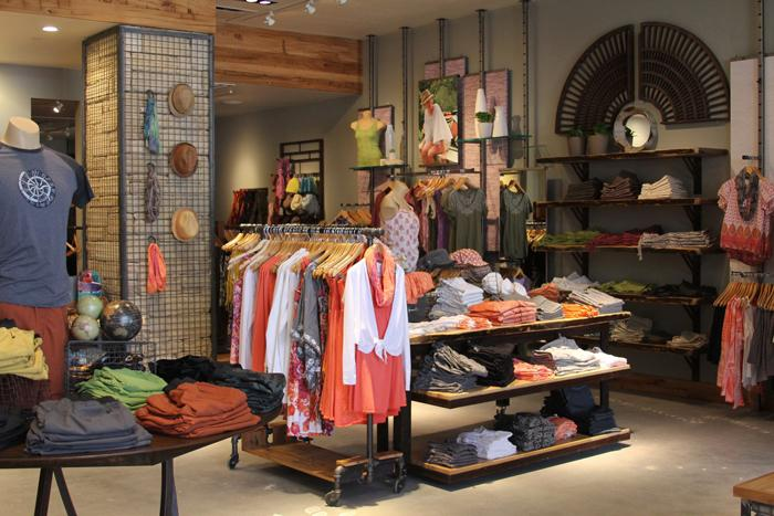 Active-lifestyle clothing store, prAna, recently opened in the Cherry Creek North district.