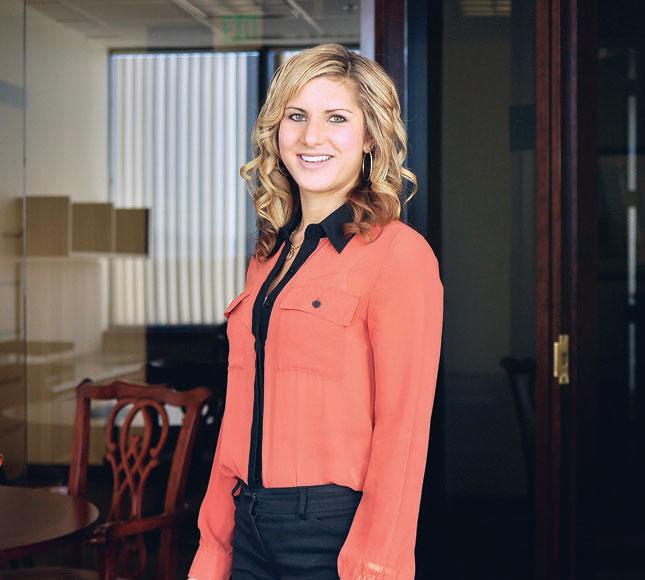 Madison Carter, a financial adviser at Morgan Stanley Wealth Management, also owns her own firm.