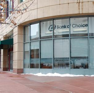 Bank of Choice branch