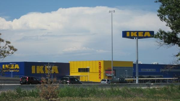 The Ikea store in Centennial is alongside Interstate 25.