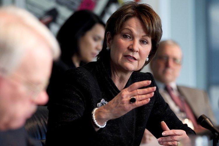 Marillyn Hewson, CEO of Lockheed Martin Corp.