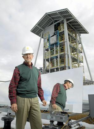 Wayne Simmons, CEO of Sundrop Fuels, in a 2010 photo.