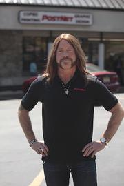 "PostNet CEO Steve Greenbaum, in disguise for ""Undercover Boss."""
