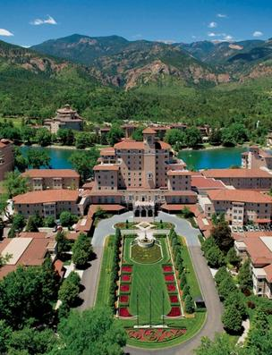 The Broadmoor hotel in Colorado Springs.