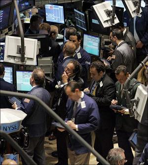 The Dow finished above 13,000 for the first time since 2008.