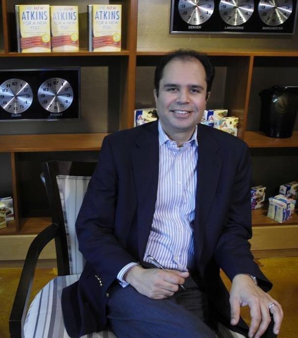 Monty Sharma, CEO of Atkins Nutritionals