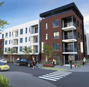 Artist's rendition of the planned 360˚ Apartments in Centennial.