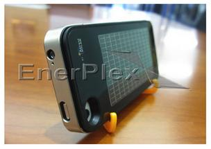 An image of the Ascent Solar EnerPlex charger case for iPhone from the company website.