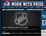 NHL, players reach tentative deal; Avalanche could be back by late January