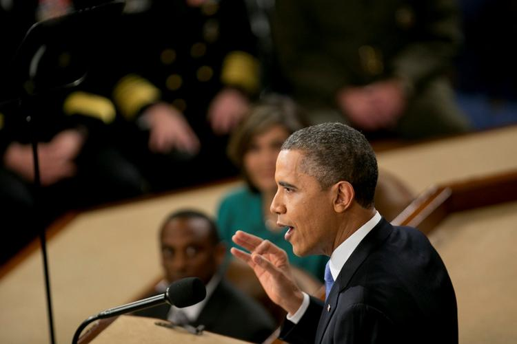 President Obama in his State of the Union address proposed raising the federal minimum wage. He also addressed immigration reform, gun control, education and climate change. Full transcript and video below.