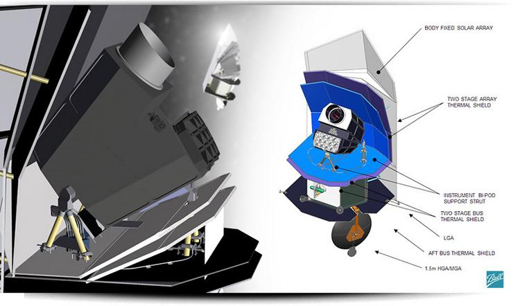 Ball Aerospace — a unit of Broomfield-based Ball Corp. (NYSE: BLL) — has been designing Sentinel since 2004. Shown: An artist's rendition of Sentinel.