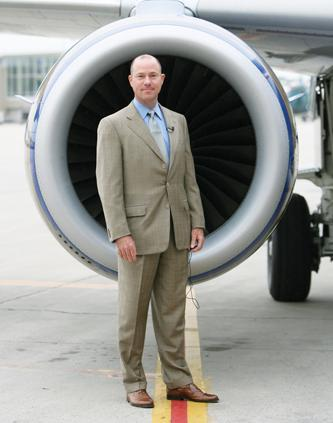 Republic Airways Holdings chairman and CEO Bryan Bedford.
