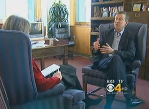 Colorado Gov. John Hickenlooper lays out his priorities for 2012 in an interview with CBS4 Political Specialist Shaun Boyd on Wednesday, Jan. 11, 2012.