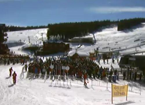 Ski resort bookings are down in many mountain towns, but Breckenridge is an exception.
