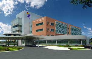 An artist's rendering of the planned Children's Hospital Colorado South Campus in Highlands Ranch.