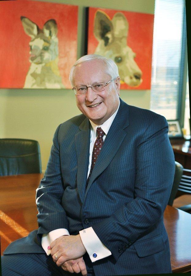 Joseph Clayton, Dish Network's CEO, at his Douglas County office.