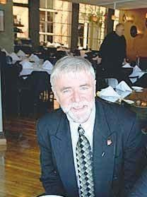 Noel Cunningham at Strings Restaurant in a 2007 photo.