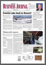 Even with the snow, you can still read your Denver Business Journal online