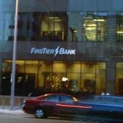 A FirsTier Bank office in downtown Denver.
