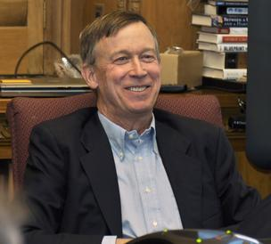 Colorado Gov. John Hickenlooper (file).