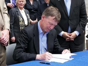 Colorado Gov. John Hickenlooper in a 2011 photo.